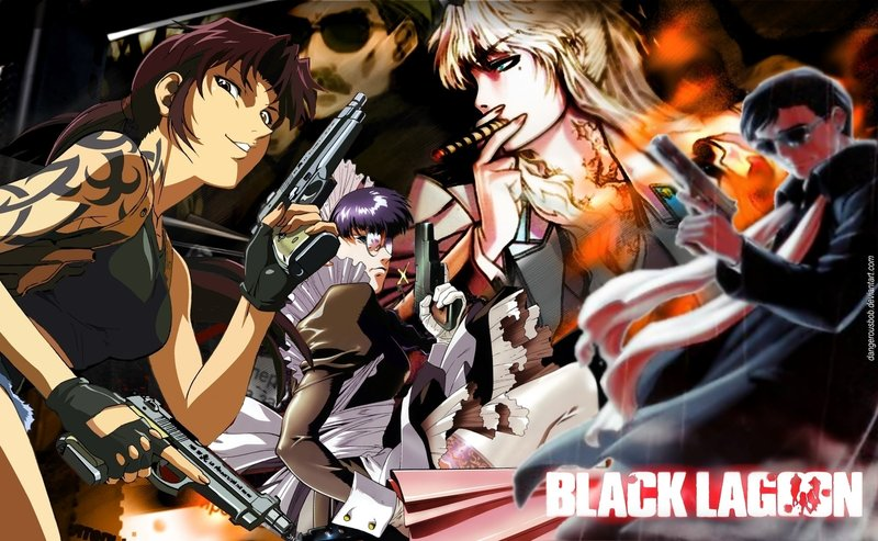 Black Lagoon. This is a manga series written and illustrated by Rei Hiroe.